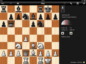 [Shredder Chess for iPad]